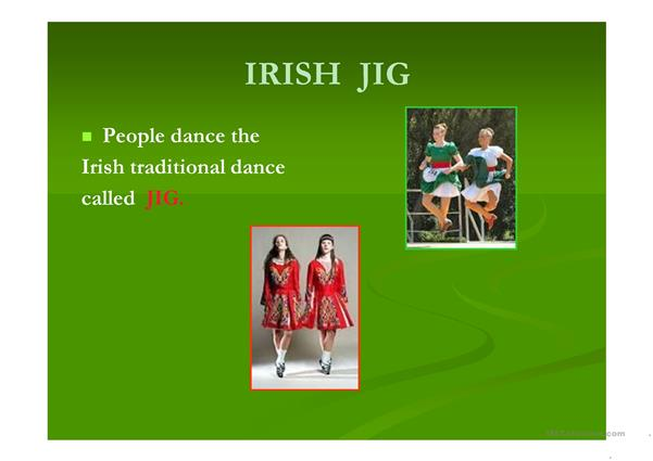St Patrick's Day - short story (Powerpoint - 10 slides)