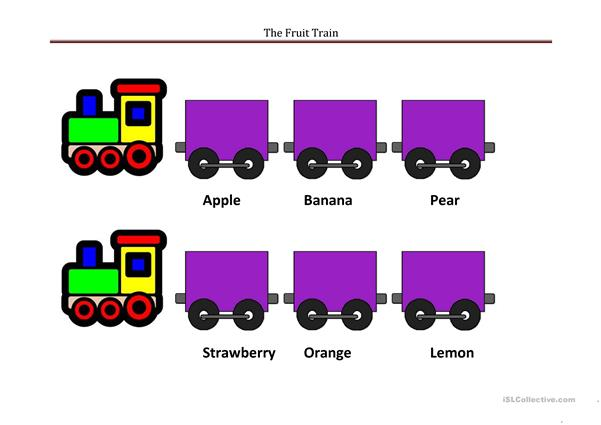 The fruit train