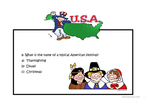 The USA Quiz