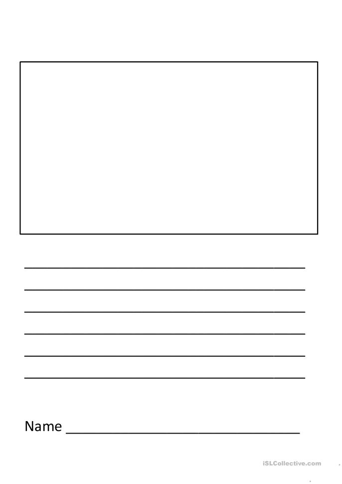 elementary writing template worksheet free esl printable worksheets made by teachers. Black Bedroom Furniture Sets. Home Design Ideas