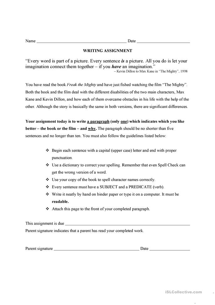 Worksheet Freak The Mighty Worksheets paragraph worsheet for freak the mighty by rodman philbrick worksheet free esl printable worksheets made teachers