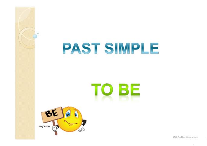 Past Simple - To Be - ESL worksheets