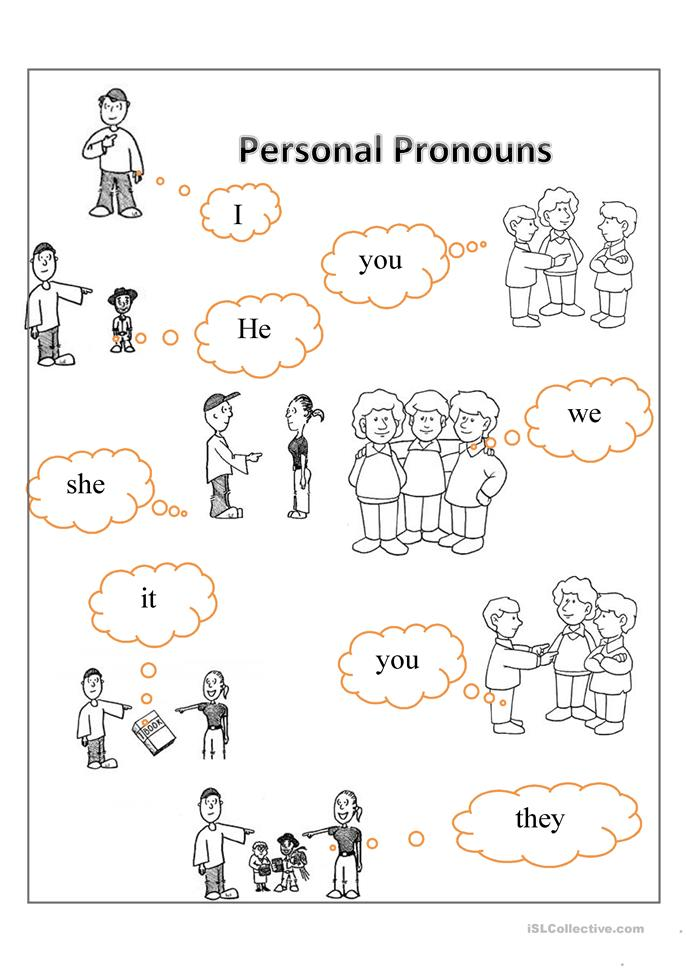 personal pronouns coloring pages - photo#10