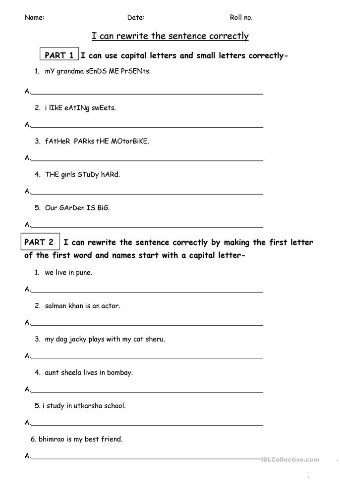 Printables Free Punctuation Worksheets 80 free esl punctuation worksheets worksheet