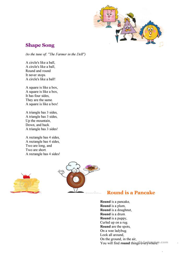shapes poems worksheet free esl printable worksheets made by teachers. Black Bedroom Furniture Sets. Home Design Ideas