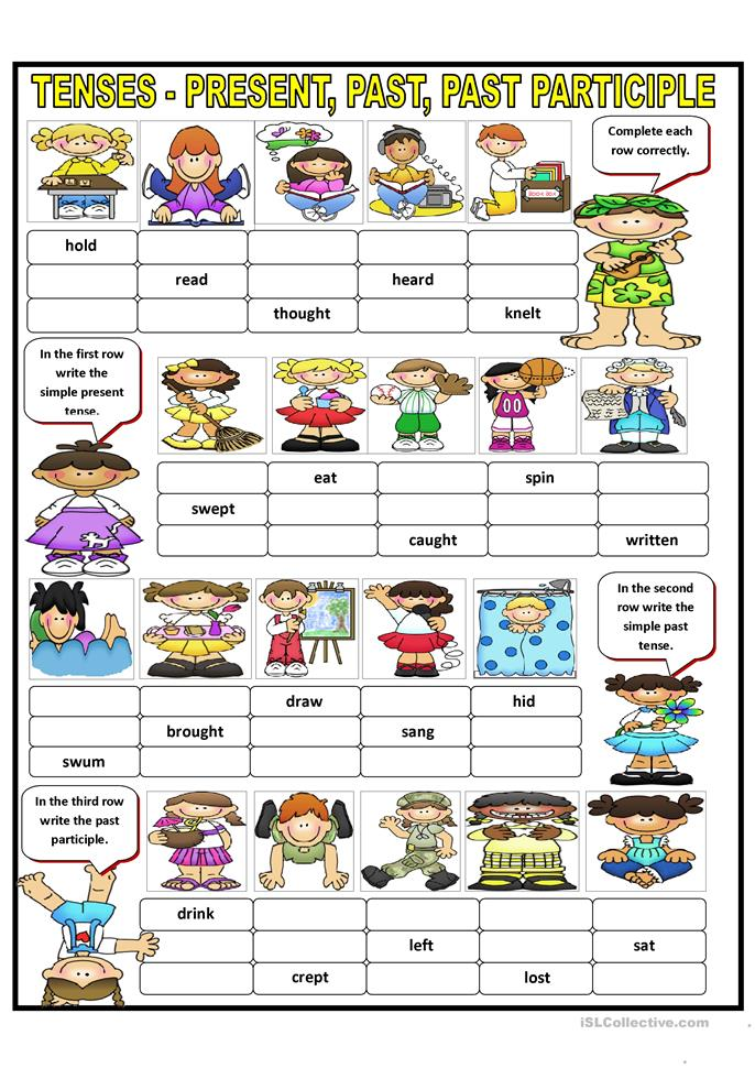 verb tenses part 2 answer key has all possible answers worksheet free esl printable. Black Bedroom Furniture Sets. Home Design Ideas