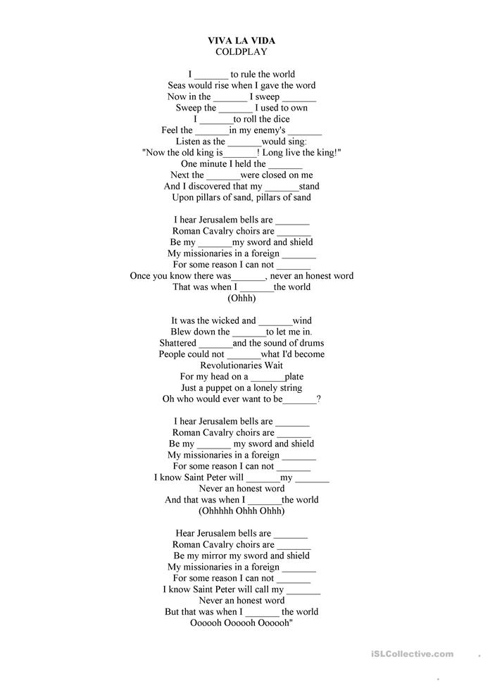 Lyrics for yellow by coldplay