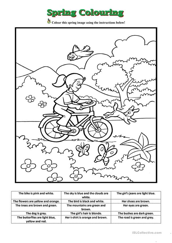 This is a photo of Striking Spring Printable Activities