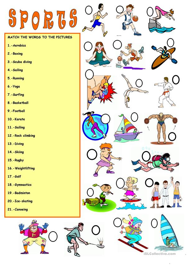 vocabulary sports worksheet free esl printable worksheets made by teachers. Black Bedroom Furniture Sets. Home Design Ideas
