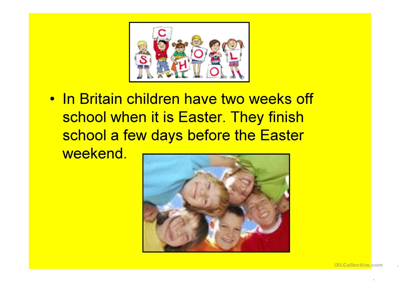 easter in the uk some facts powerpoint 15 slides 19218 3