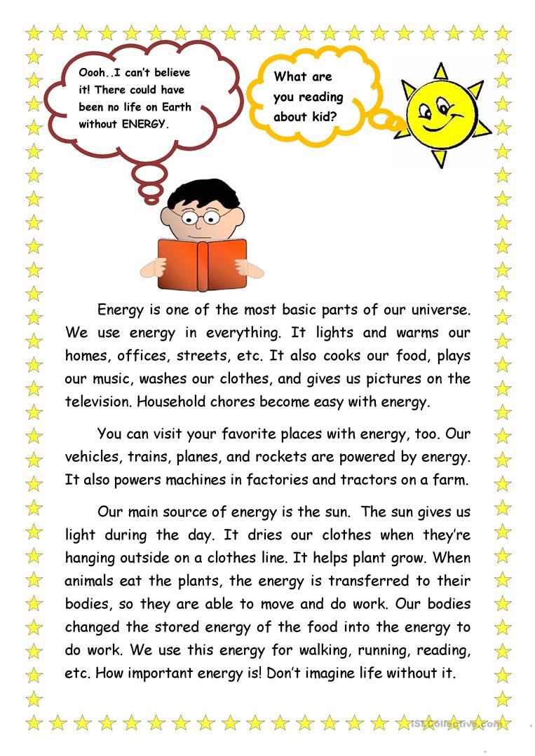 Worksheets Forms Of Energy Worksheets forms of energy worksheet free esl printable worksheets made by full screen