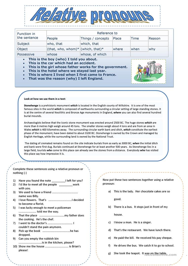 Uncategorized Relative Pronoun Worksheet 63 free esl relative pronouns worksheets pronouns