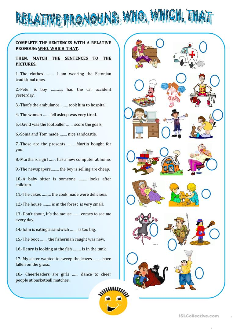 Worksheets Relative Pronouns Worksheets 65 free esl relative pronouns worksheets pronouns