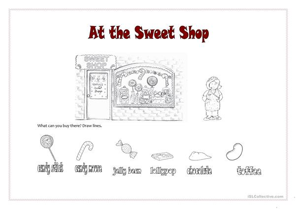 At the Sweet Shop