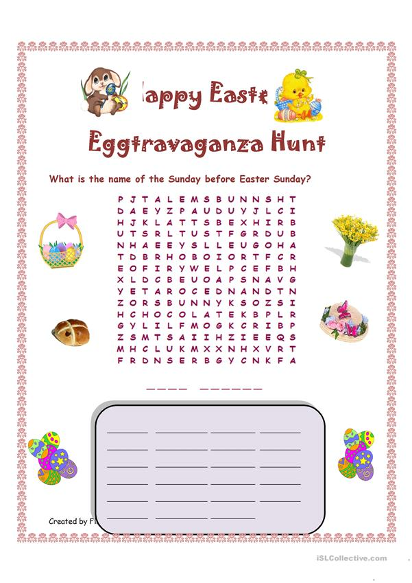 Happy Easter Eggtravaganza Hunt