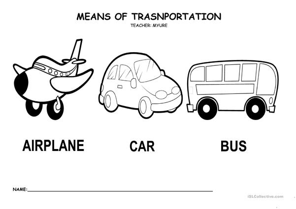means of trasportation