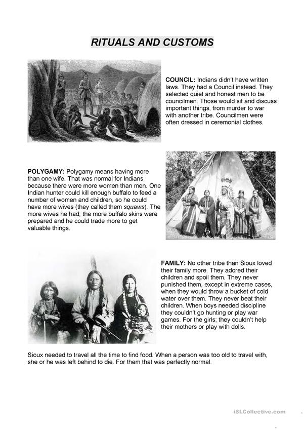 Native Americans working stations