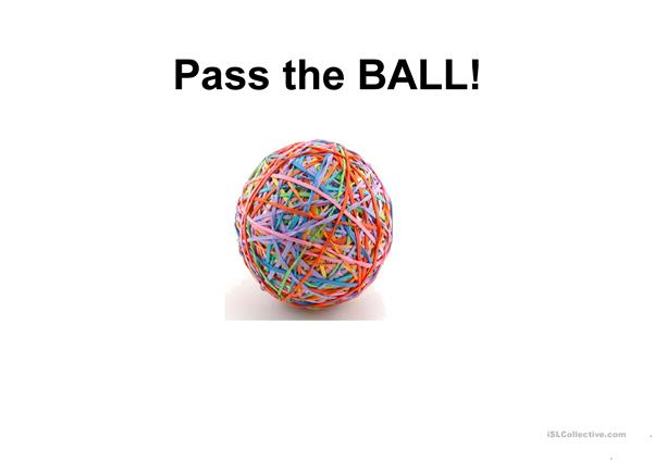Pass the Ball
