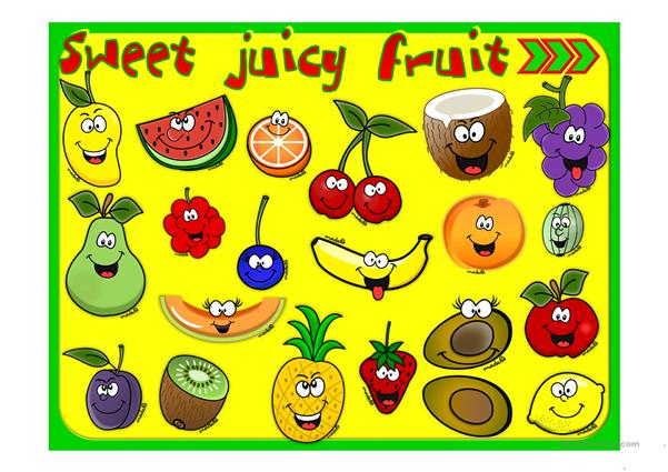 Sweet juicy fruit - GAME