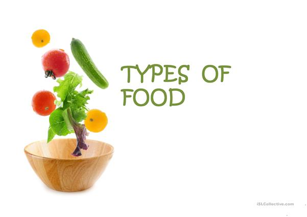 Types of food