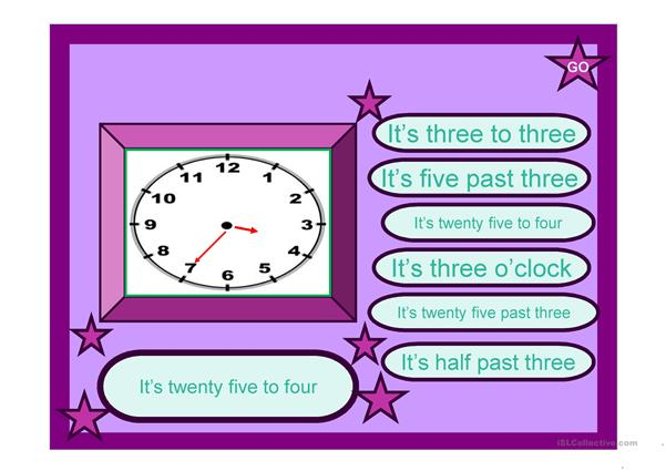 WHAT TIME IS IT? - PPT