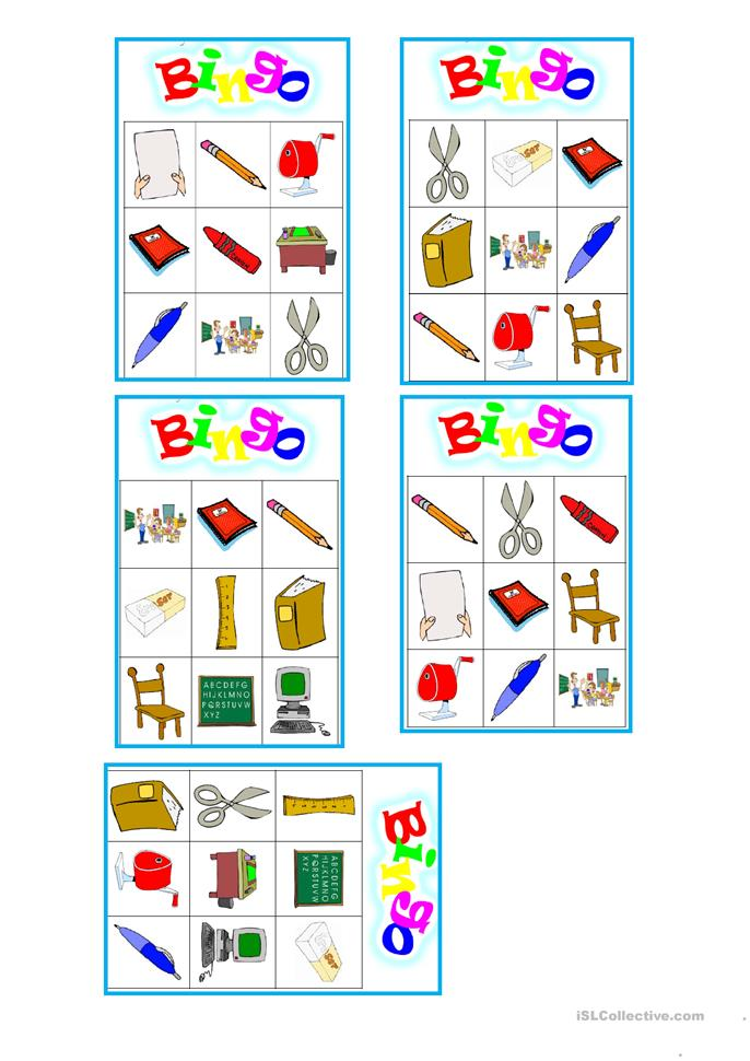 simple bingo game for toddlers