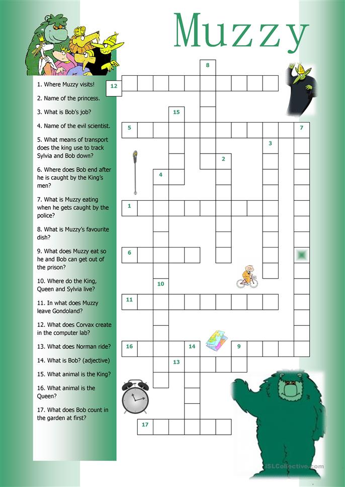 Big Islcollective Worksheets Preintermediate A Adults High School Present Perfect Simple Tense Present Perfect Tense For Or Da E moreover Big Muzzy Crossword moreover Big Islcollective Worksheets Preintermediate A Intermediate B Upperintermediate B Adults High School Reading Spelling Wri Ed F B together with Big Sexist Stereotypes Barbie Girl Song as well Big Kids Crossword Family. on free printable worksheets high school