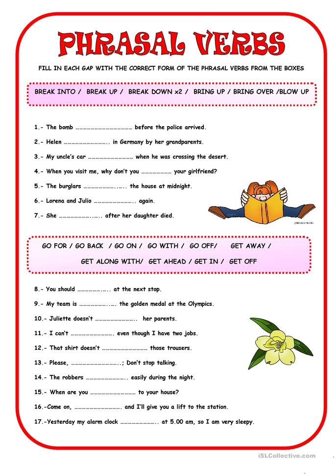 ... VERBS worksheet - Free ESL printable worksheets made by teachers
