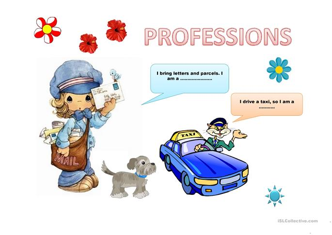 ... Worksheet. on jobs and professions worksheet free esl printable