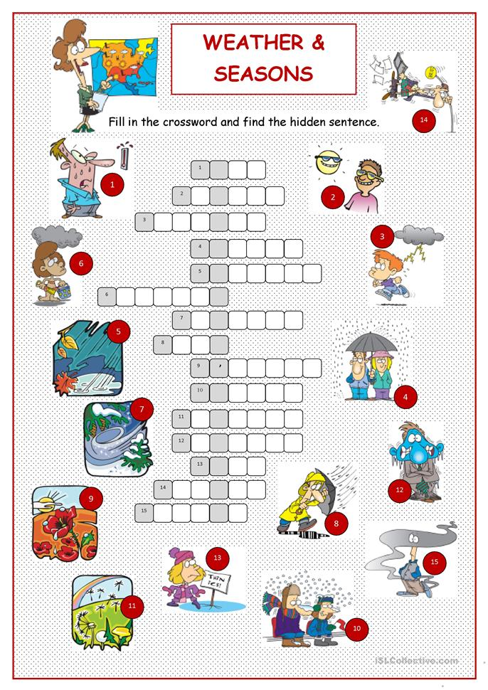 ... Crossword worksheet - Free ESL printable worksheets made by teachers