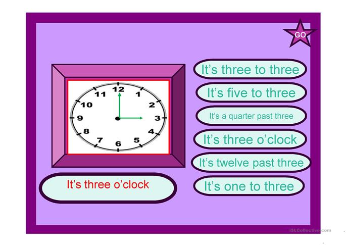 WHAT TIME IS IT? - PPT - ESL powerpoints