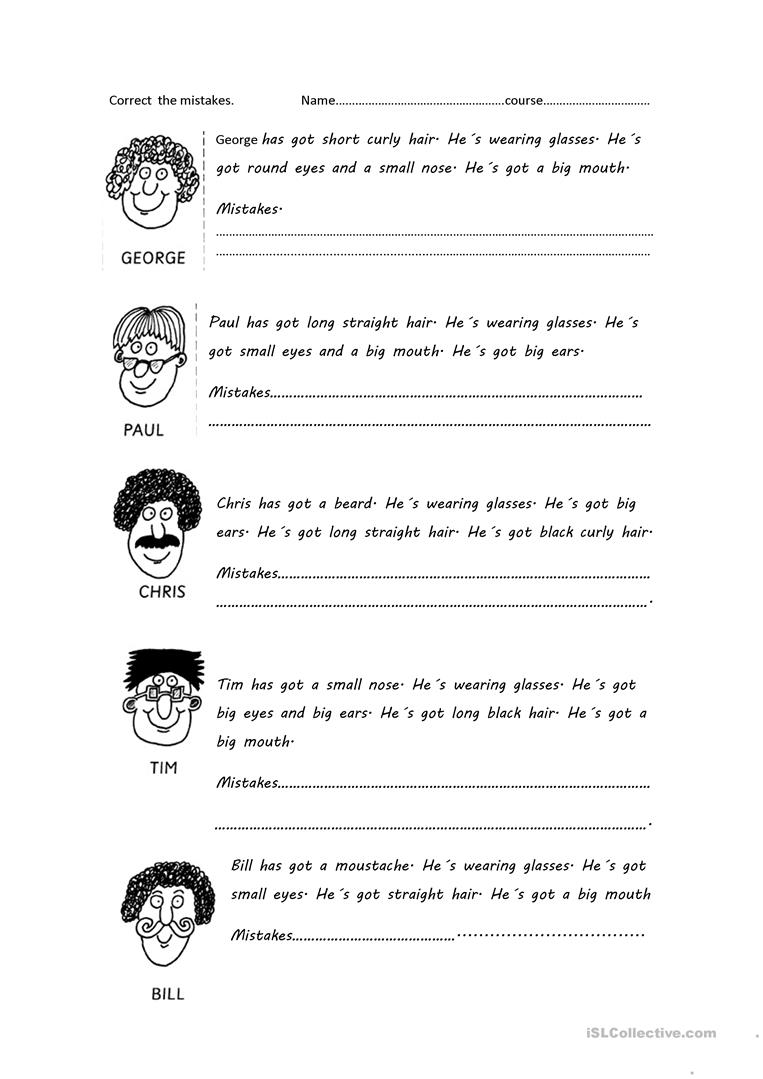 Workbooks wishes and feelings worksheets for children : 432 FREE ESL HAVE GOT or HAS GOT worksheets