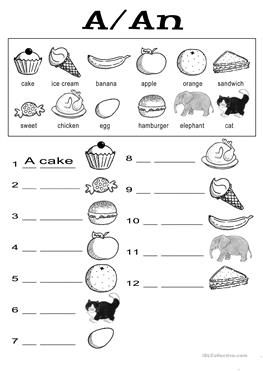English ESL food, kindergarten worksheets - Most downloaded (304 ...