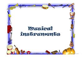 11 free esl musical instruments powerpoint presentations exercises