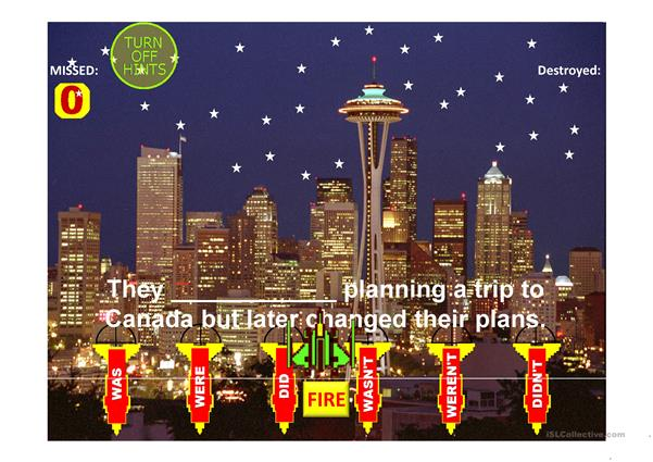 Auxiliary Verbs Save Seattle