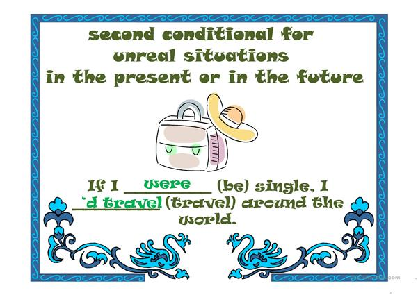 CONDITIONALS (second)