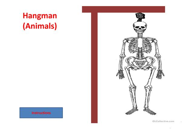 Hangman Animals (all)