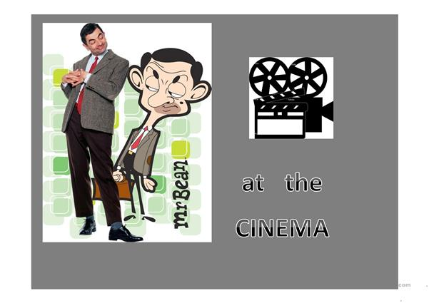Mr. bean with past tenses