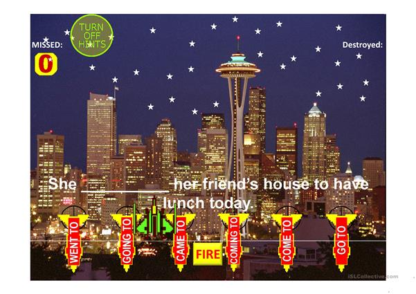SAVE SEATTLE, WASHINGTON (went to, go to, going to, etc.)