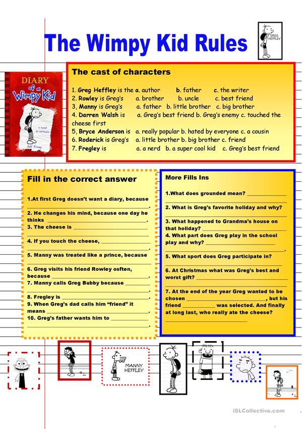 The Wimpy Kid Facts