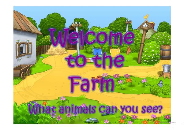 WELCOME TO THE FARM PART 1