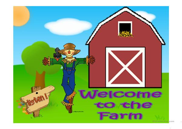 WELCOME TO THE FARM PART II