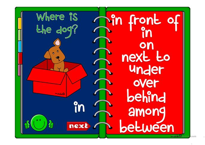 Where's the dog? - GAME - ESL powerpoints