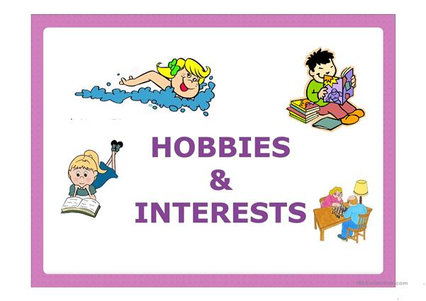 Hobbies Interests English Esl Powerpoints For Distance Learning And Physical Classrooms