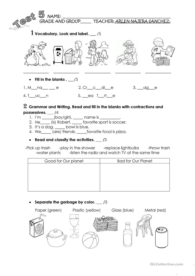 Worksheets Planet Worksheets saving the planet worksheet free esl printable worksheets made by full screen