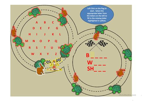 Spelling Bee Things We Do To Our Body worksheet - Free ESL ...