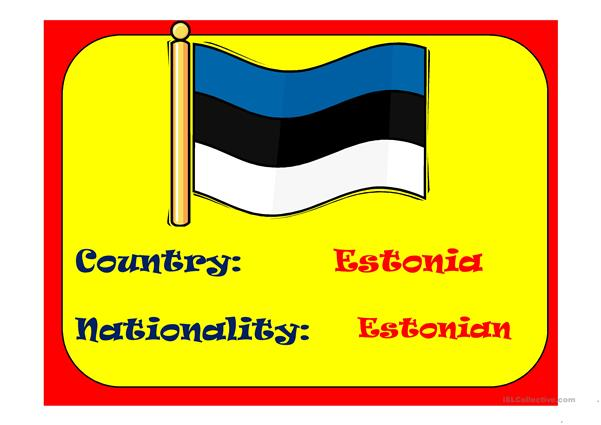 COUNTRIES & NATIONALITIES 2