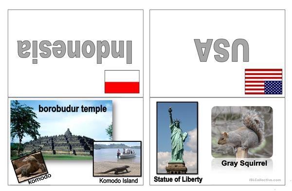 Most Famous Landmarks and Animals