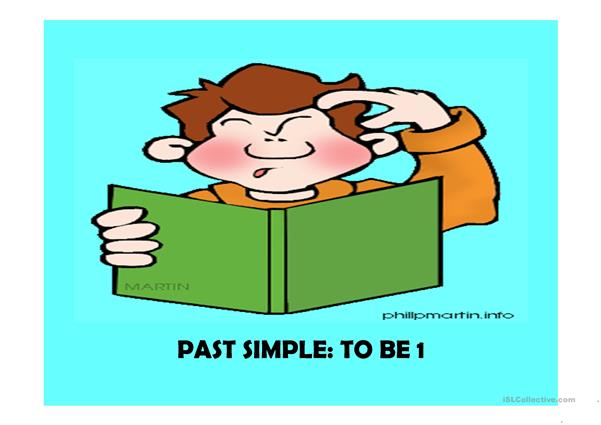 Past simple To be 1