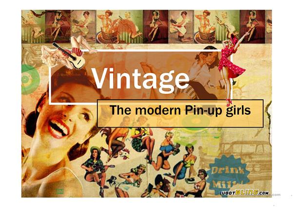 Pin Up Urban tribes